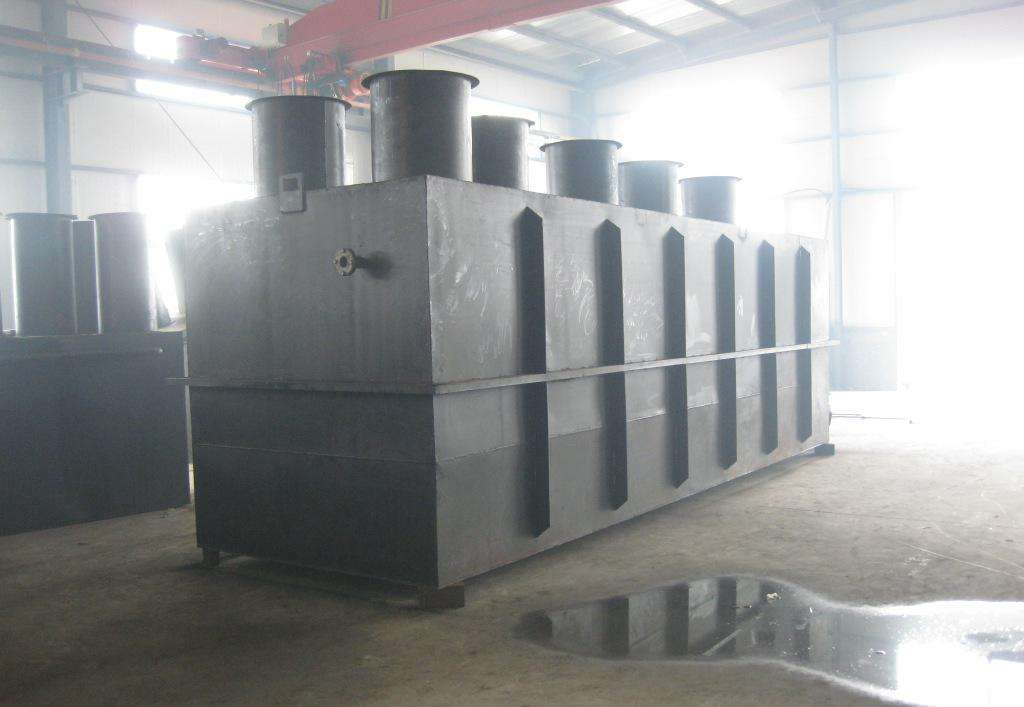 农村污水处理设备水解酸化与厌氧好氧相比的特征