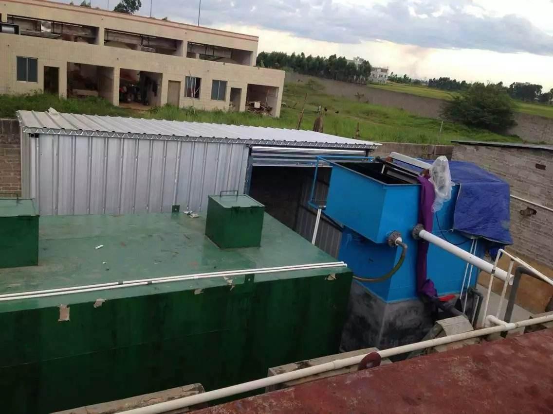 浅谈关于污水处理一体化设备的优势