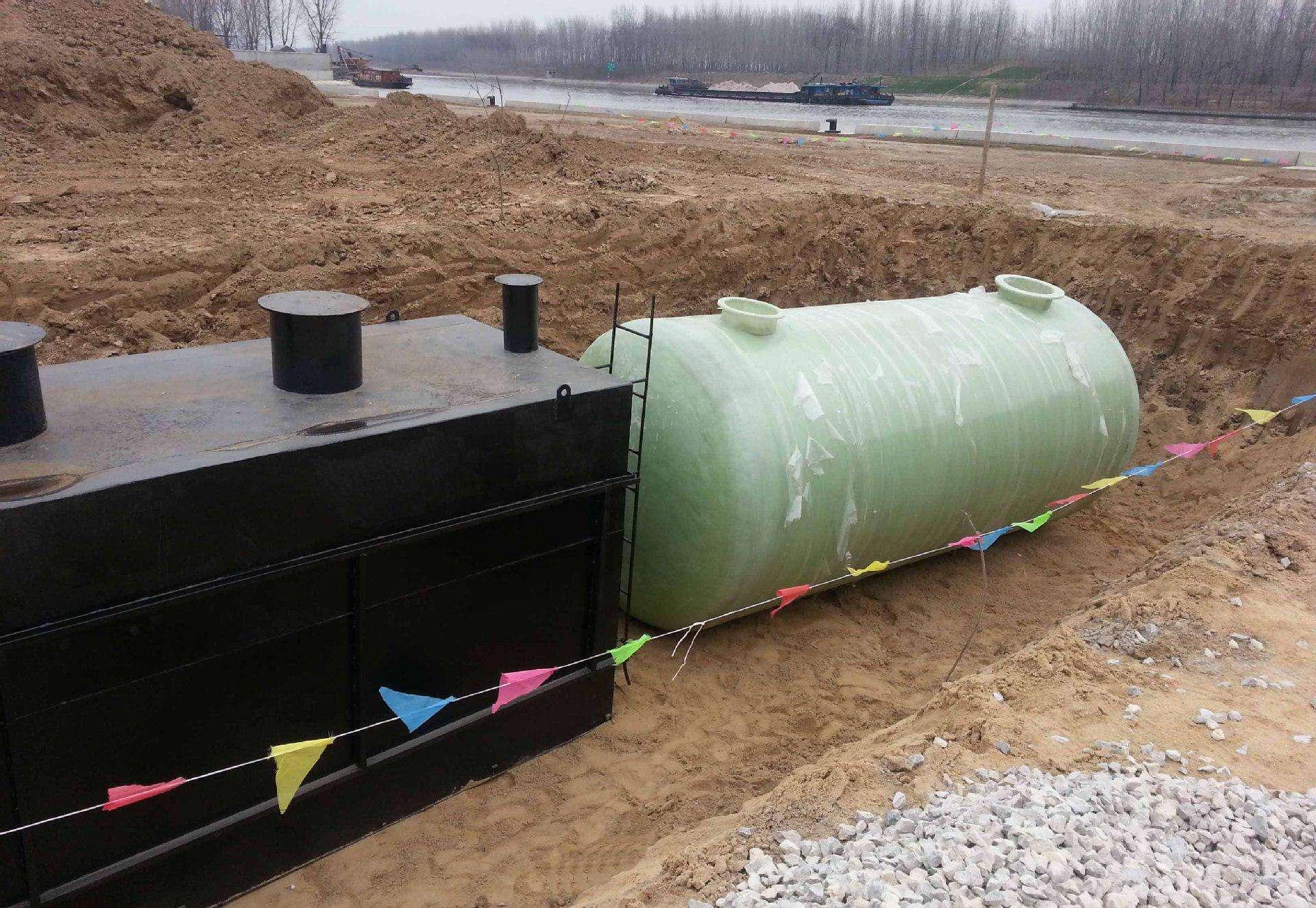 地埋式污水处理设备的不同温度对处理效果的影响