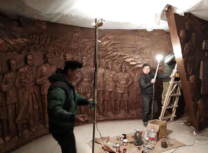 陜西仿銅雕塑制作
