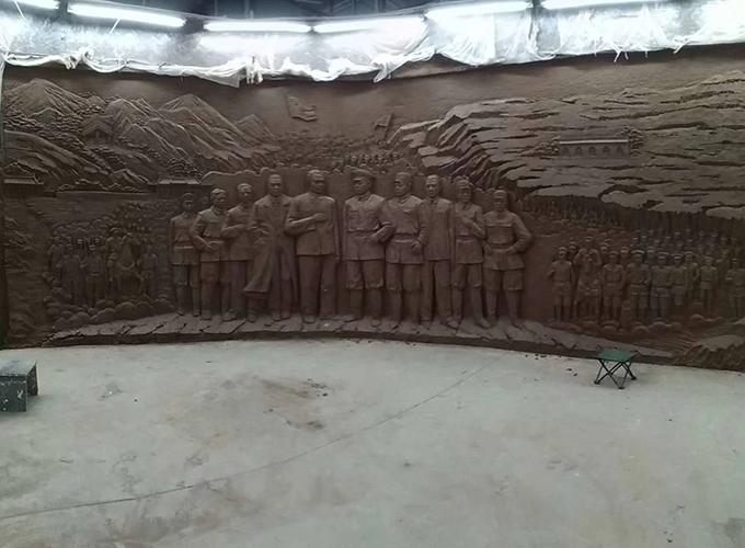 陜西仿銅雕塑