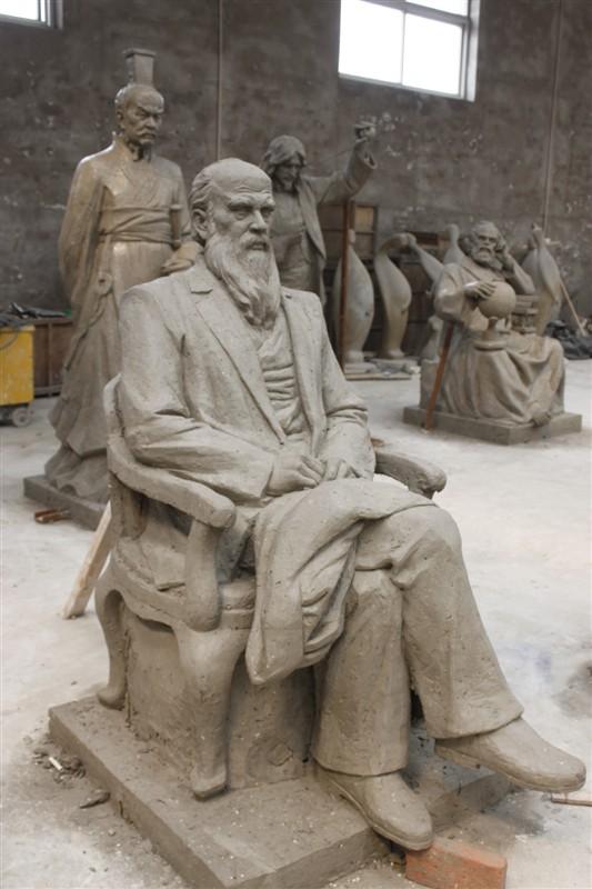 西安玻璃鋼校園雕塑制作