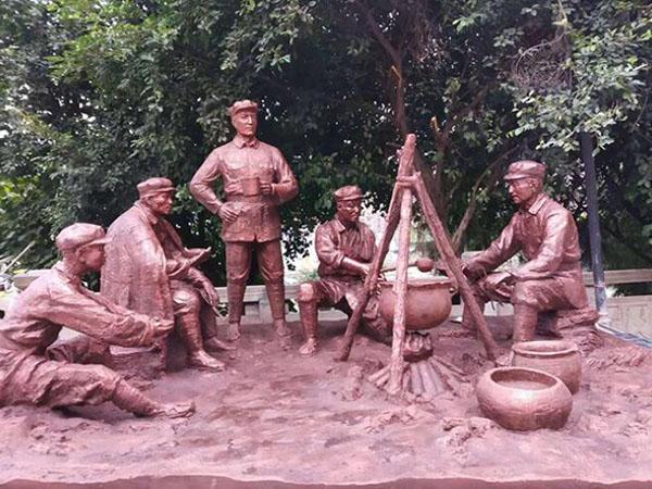 大型鑄銅雕塑