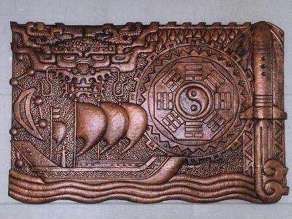 鍛銅浮雕設計
