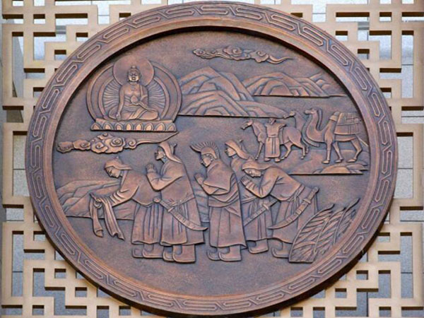 城市鍛銅雕塑