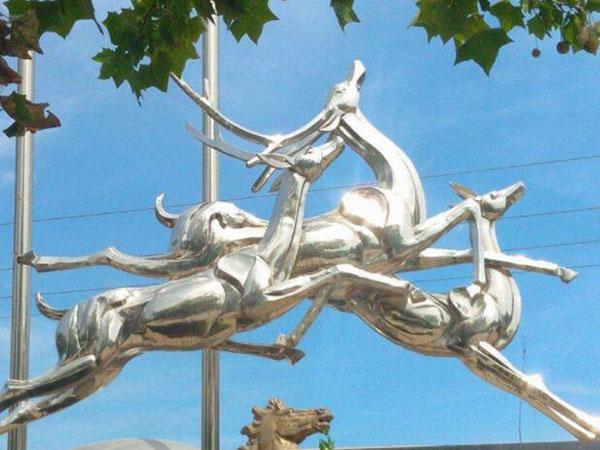 不銹鋼動物雕塑