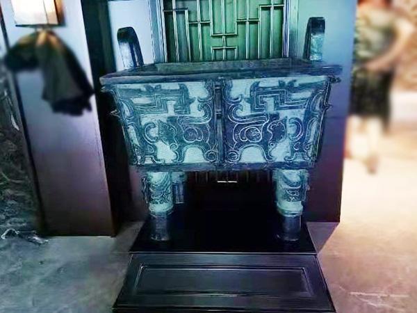 寧夏玻璃鋼仿銅雕塑制作