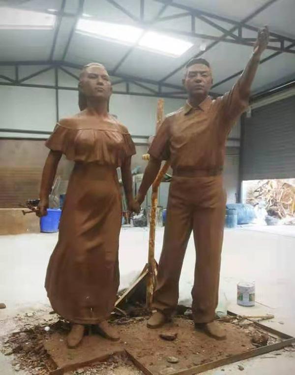 榆林玻璃钢雕塑