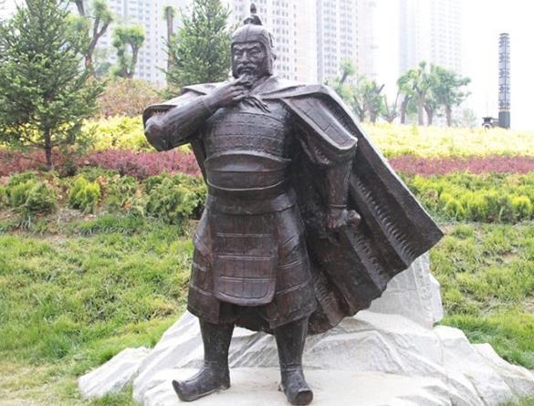 榆林铸铜雕塑