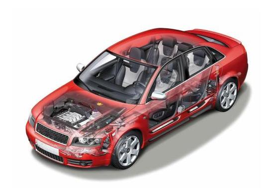 汽车车身附件检测