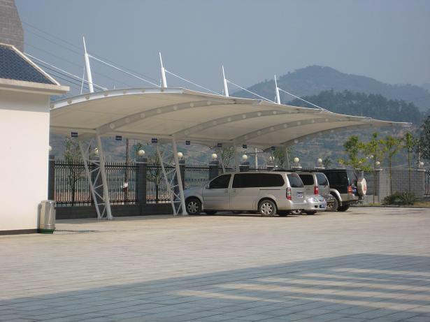 膜结构停车棚的六大优异性能
