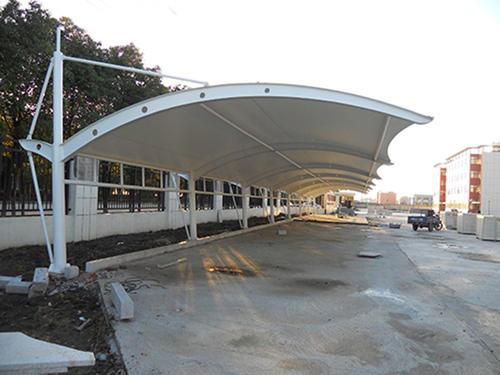 膜结构停车棚工程