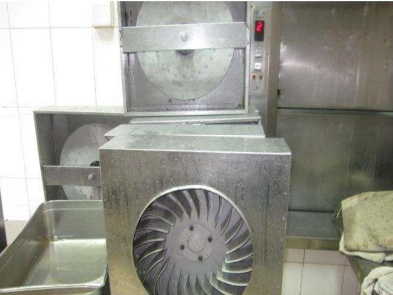 清洗厨房油烟风机