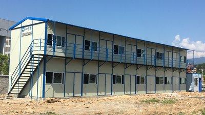 全新概念的环保经济型彩钢活动房子
