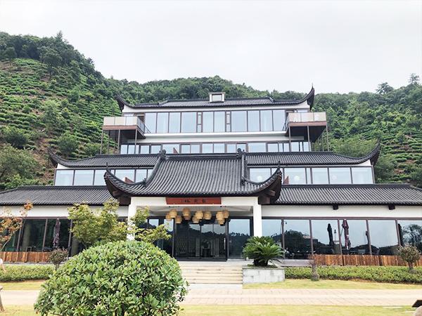涵田度假村酒店石墨烯地暖施工安装完成