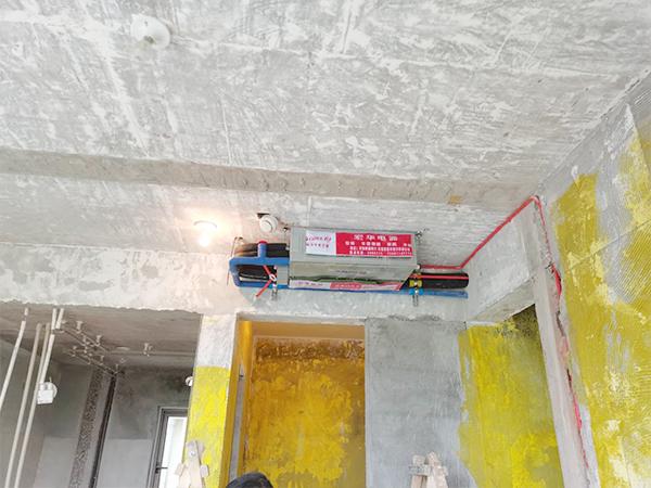 三江國際一拖三中央空調安裝現場案例