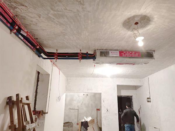 龙山景苑一拖三中央空调安装案例