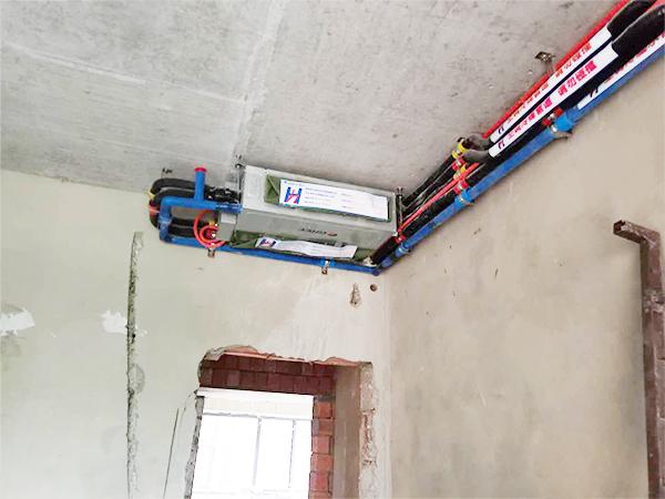 树高威尼斯中央空调安装案例
