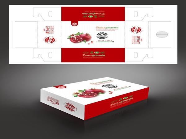 水果盒包装-会理石榴