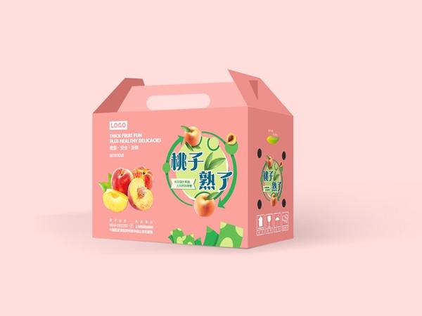 礼盒纸箱-桃子