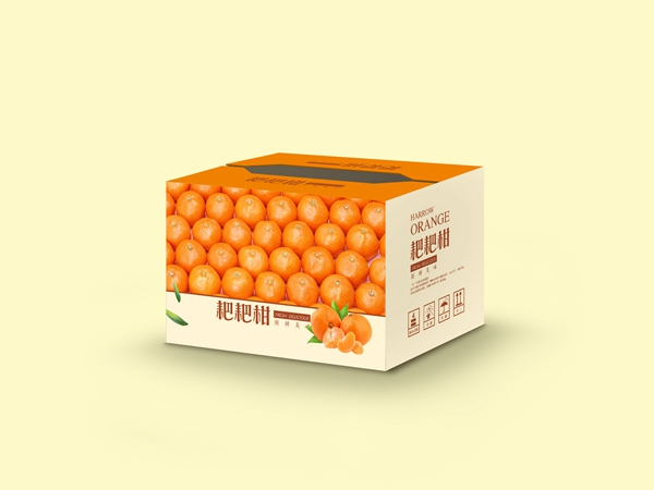 绵阳水果纸箱-耙耙柑