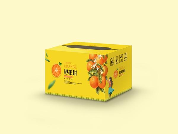 绵阳水果纸箱包装-耙耙柑