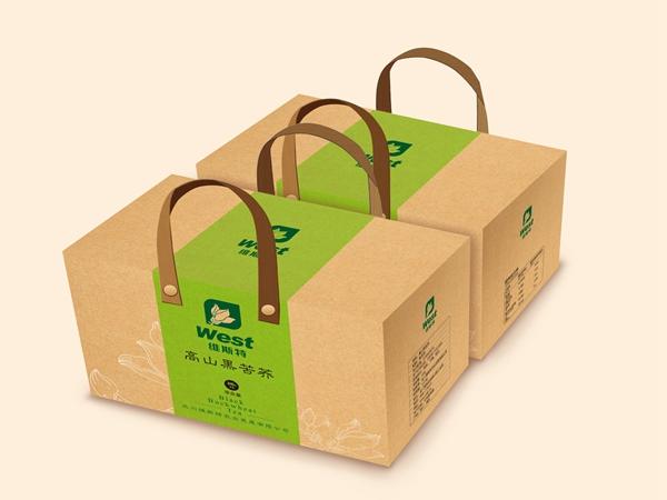 绵阳礼盒包装-维斯特苦荞茶