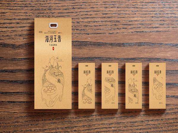 绵阳蒋先生订购礼盒包装-海河玉香