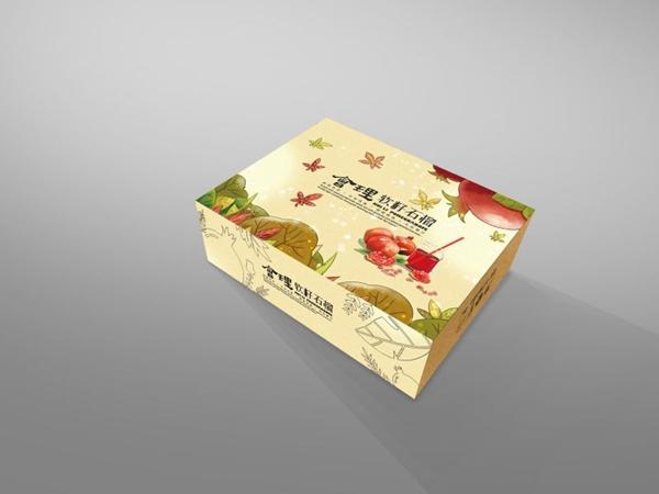 水果盒包裝-會理石榴1