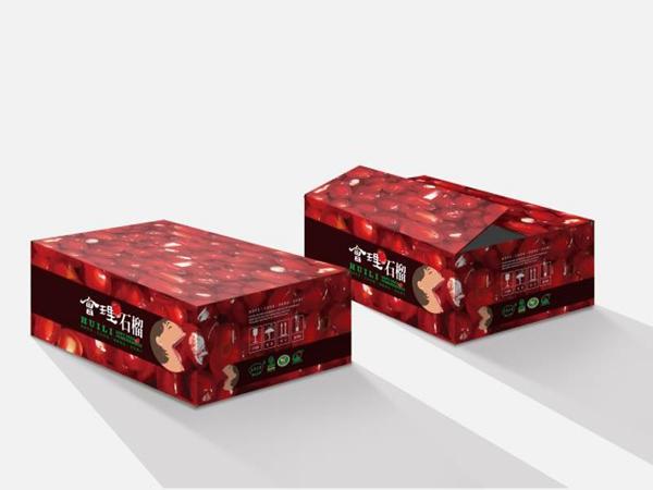 绵阳水果盒包装-会理石榴2