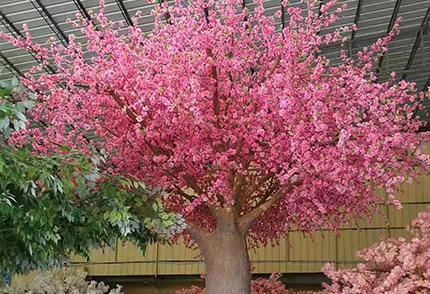 人造樱花树