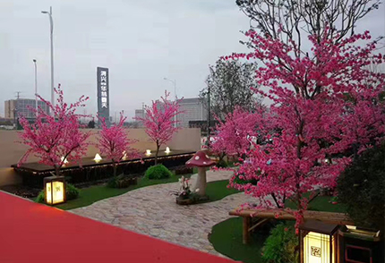室外仿真樱花树