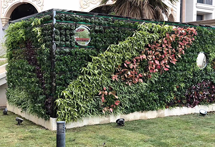仿真垂直植物墙