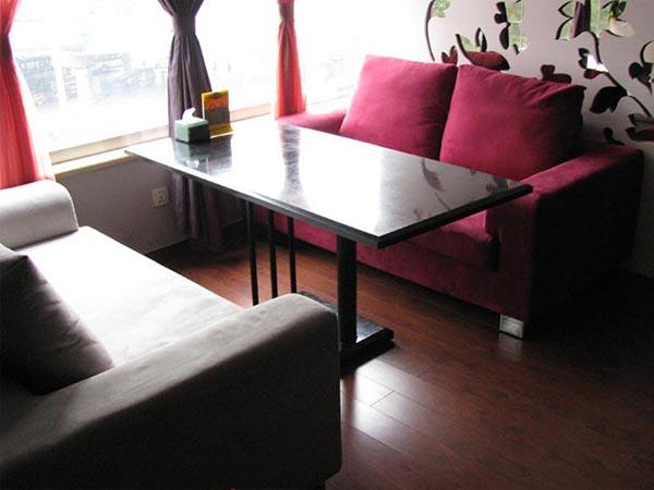 绵阳李先生茶楼开业订购100个茶楼沙发座椅