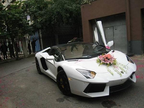 綿陽婚車租賃-蘭博基尼婚車
