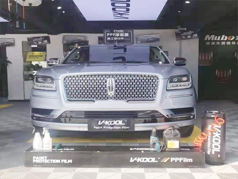 林肯汽车威固贴膜施工