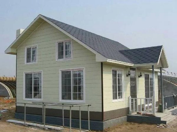 轻钢别墅采用高性能材料