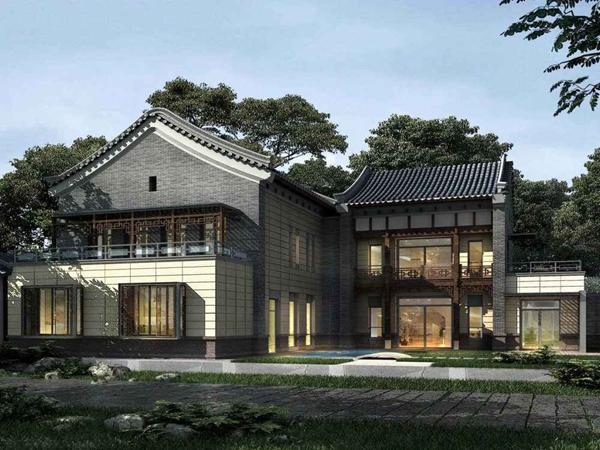 三台农村一层钢结构别墅