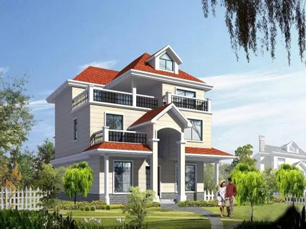 三台农村自建钢结构别墅