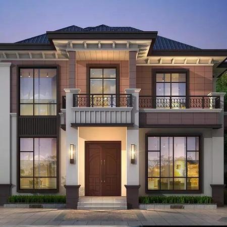 新中式轻钢别墅