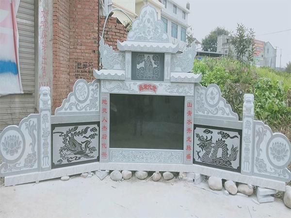 绵阳三台墓碑的雕刻技法