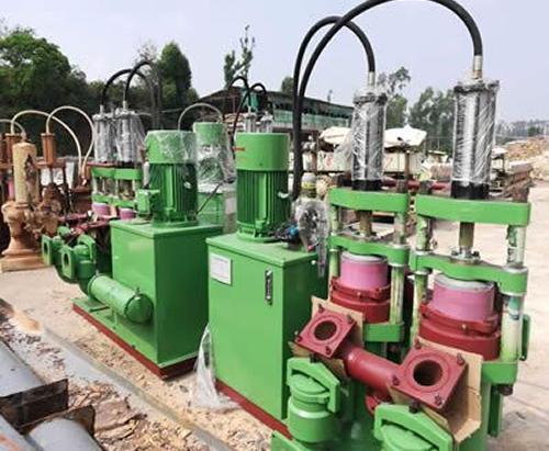 湖南某建筑公司泥浆泵污泥排水