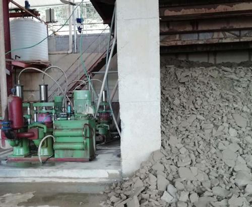西安某造纸公司定制柱塞泥浆泵