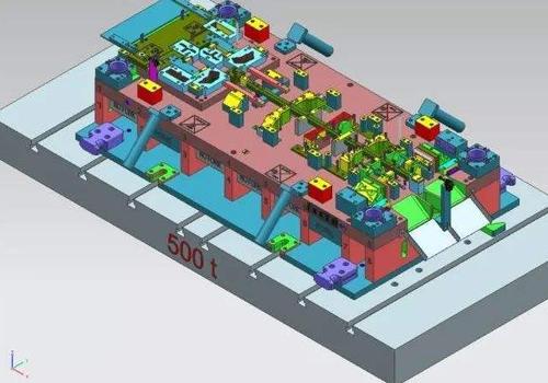 重庆汽车冲压模具设计