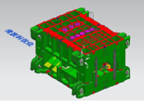 汽车冲压模具结构案例