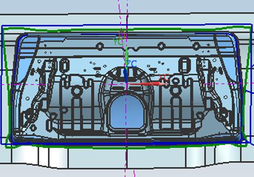 普通板材类汽车产品案例