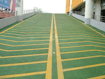 地坪漆一般施工方法: