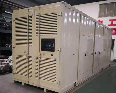 柴油发电机组静音箱体