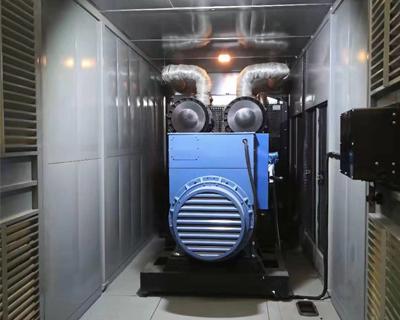 发电机组静音箱体