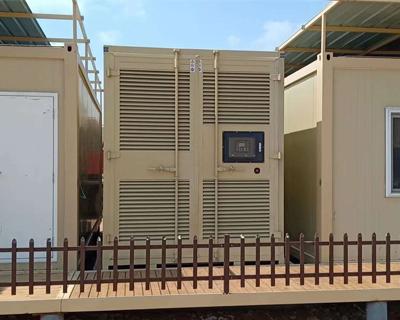 内蒙古1000千瓦静音发电机组